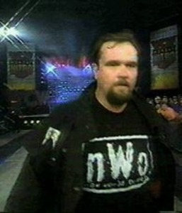 A guy from the NWO to lose...and stand there